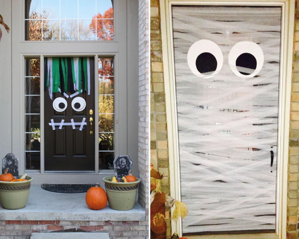 Bonito Decoracin Halloween En Casa Bosquejo Ideas de Decoracin