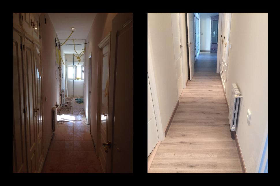 Reformas Baños Huelva:Reforma del baño, pasillo y dormitorio – Huelva Home