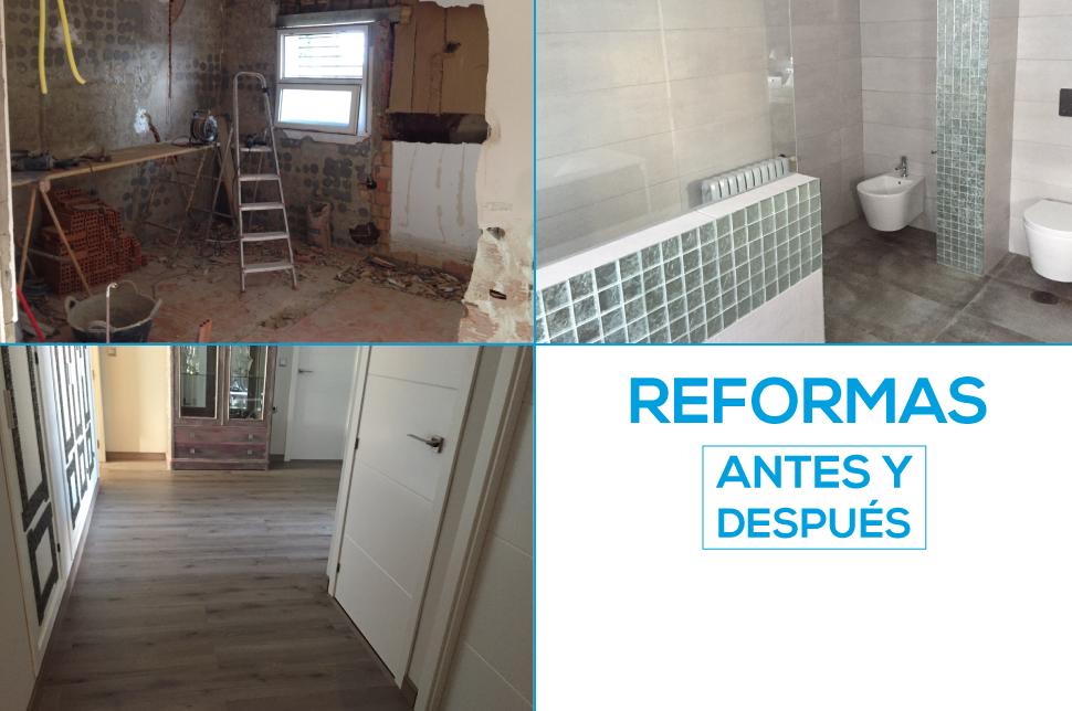 Reforma del baño, pasillo y dormitorio. - Huelva Home