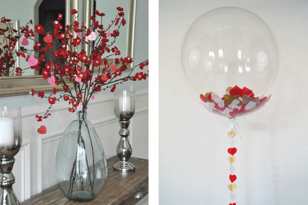 Ideas de decoraci n para 39 san valent n 39 huelva home for Decoracion san valentin