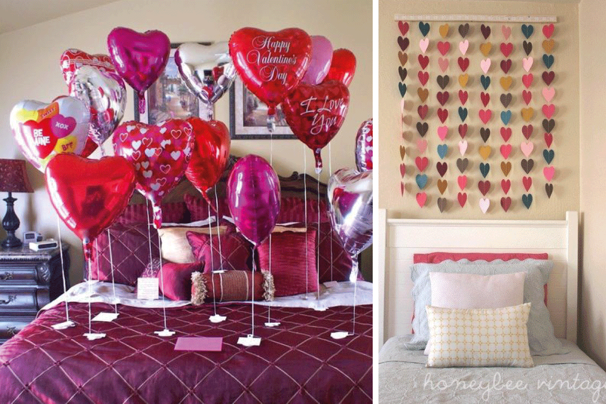 Ideas de decoraci n para 39 san valent n 39 huelva home for Ideas decoracion san valentin