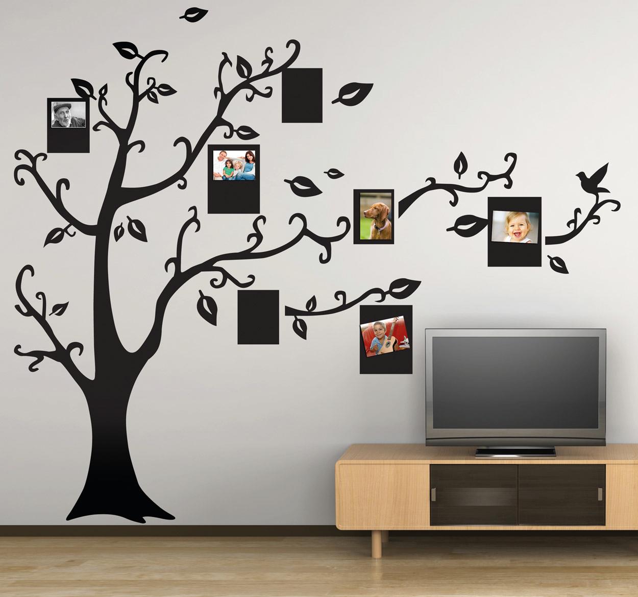 5 consejos para colocar tu rbol de vinilo en la pared - Vinilo para pared ...