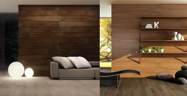 Paneles madera pared